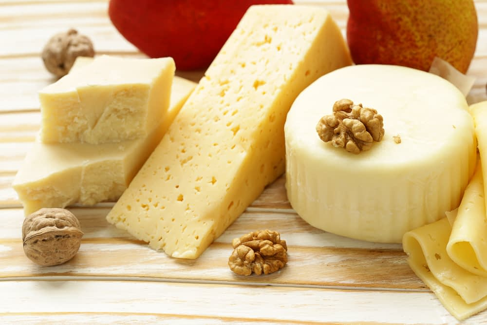 cheese, picnic foods
