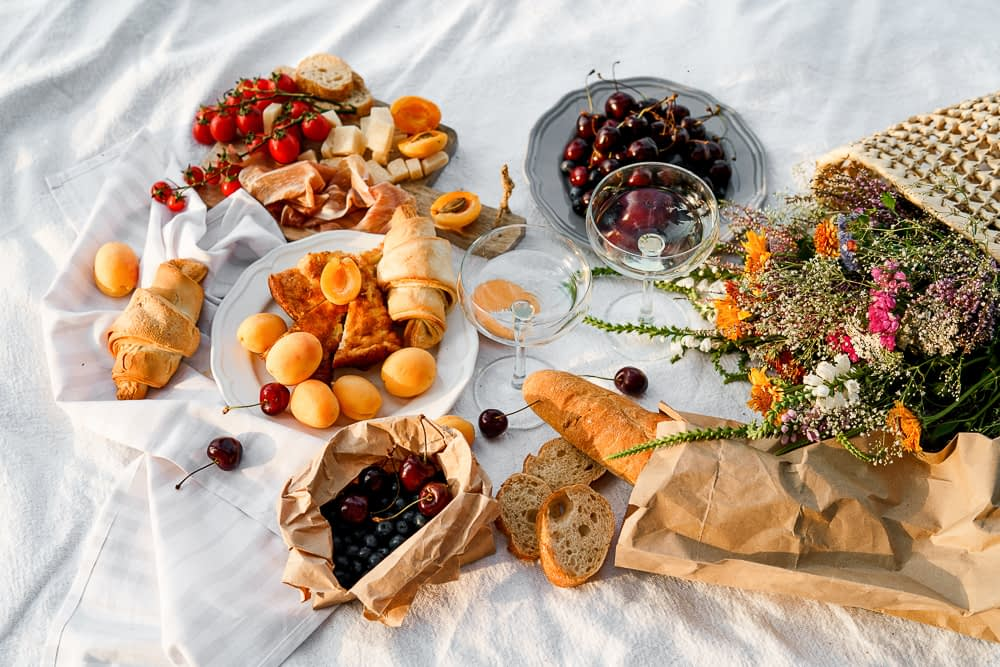 picnic foods, healthy meal