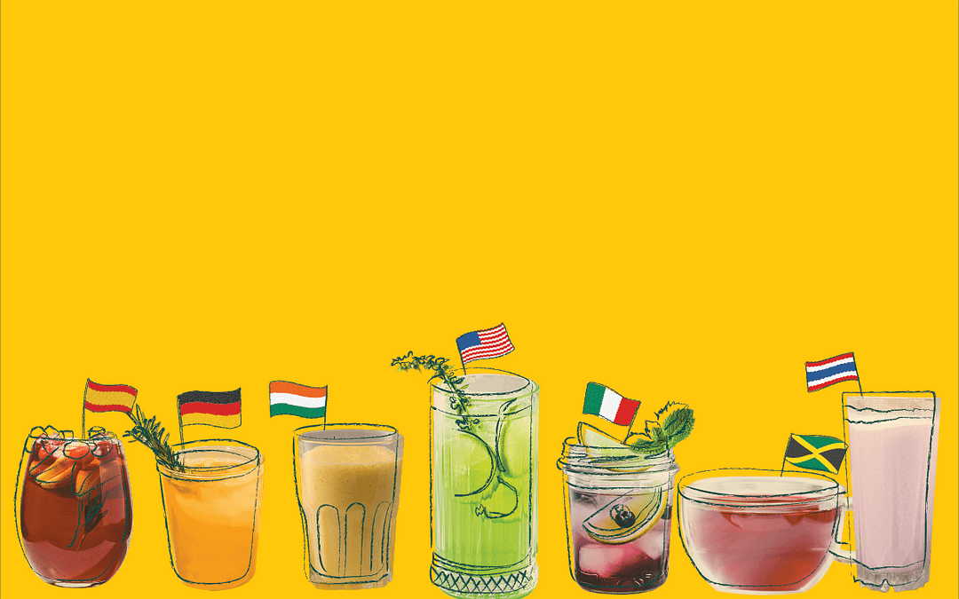 Seven Summer Drinks From Around The World