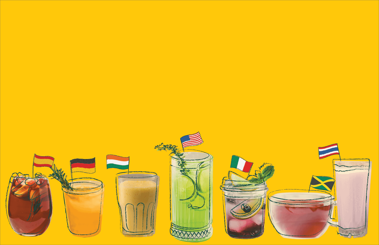 Drinks from Around the World
