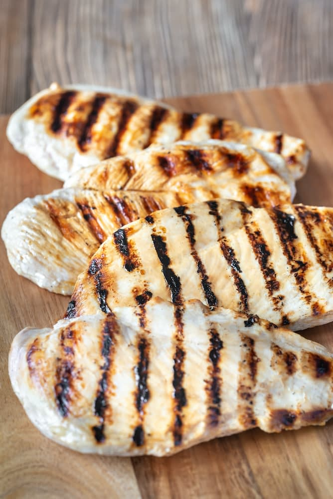 a grilled chicken breast is a lean protein