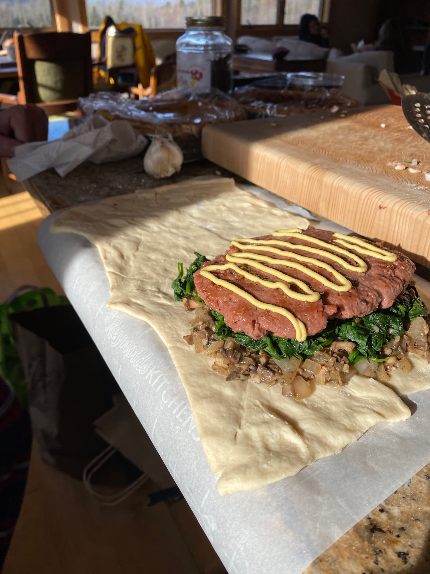 Beyond Meat Wellington - Vegan Thanksgiving Dish