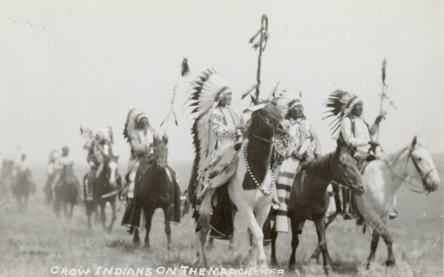 Crow Native Americans