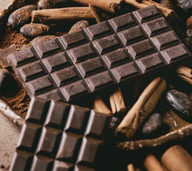 dark chocolate Healthiest foods for the heart