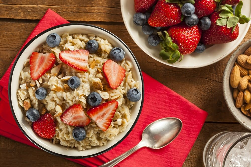 Whole grain oatmeal Healthiest foods for the heart
