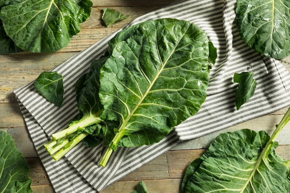 green leafy vegetables Healthiest foods for the heart