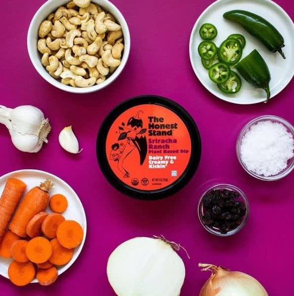 dairy free dip, The Honest Stand
