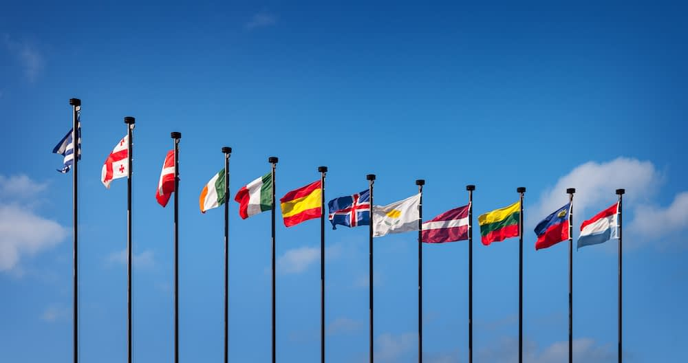 national flags of the United Nations members